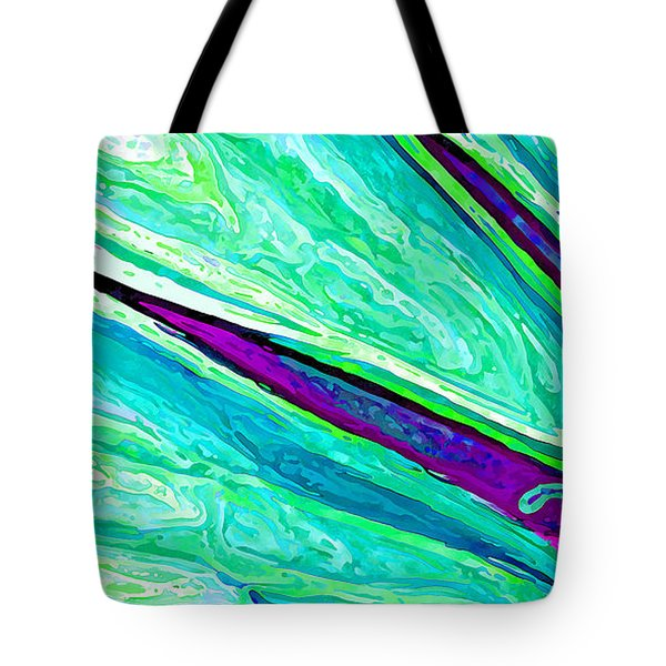 Daisy Petal Abstract 2 Tote Bag