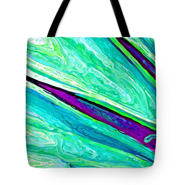 Daisy Petal Abstract 2 Tote Bag by ABeautifulSky Photography
