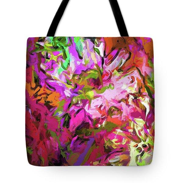 Daisy Rhapsody Petal Pink Tote Bag