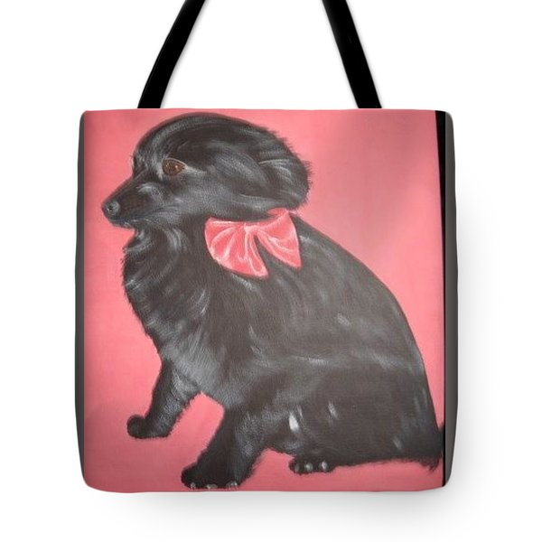 Daisy Scared Little Dog Tote Bag