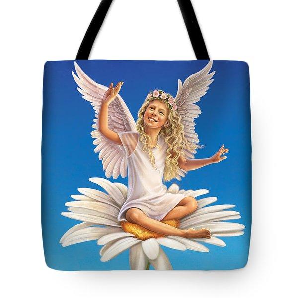 Daisy - Simplify Tote Bag