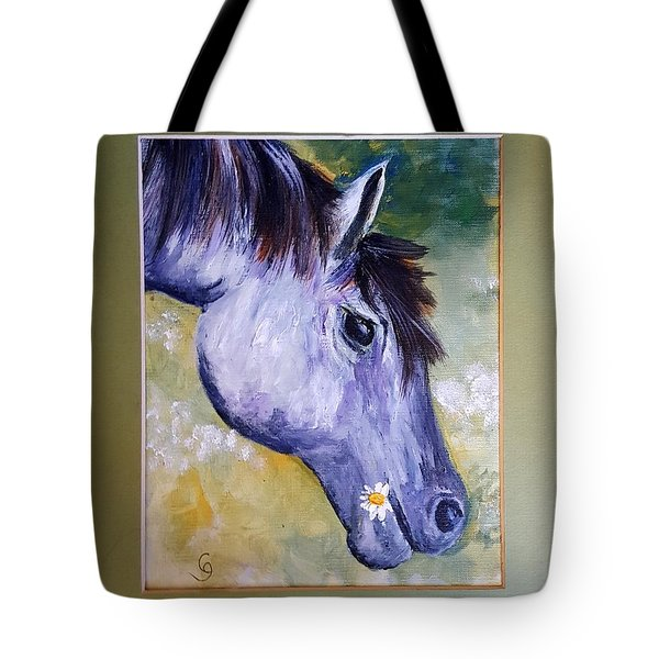 Daisy The Old Mare     52 Tote Bag