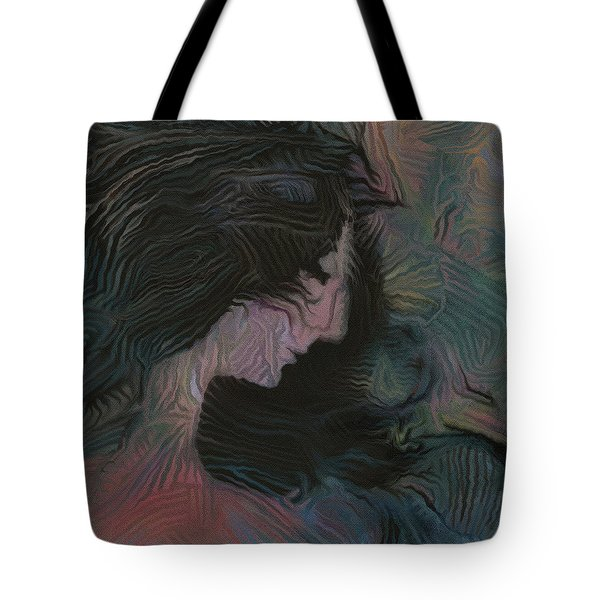 Tote Bag featuring the painting Dakota by David Klaboe