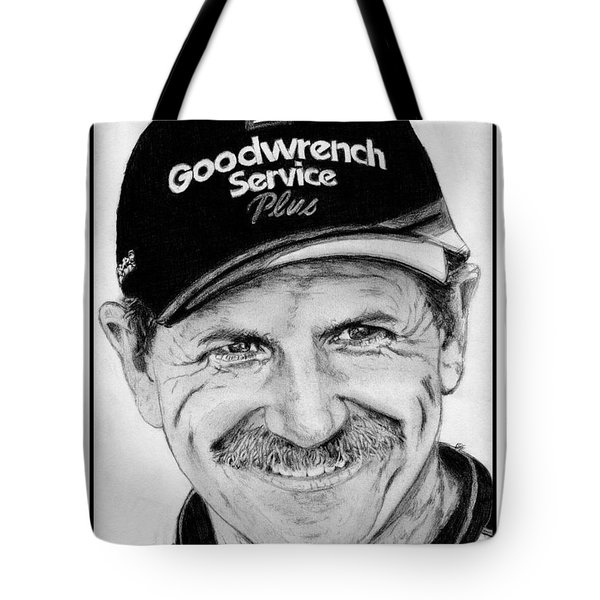 Dale Earnhardt Sr In 2001 Tote Bag