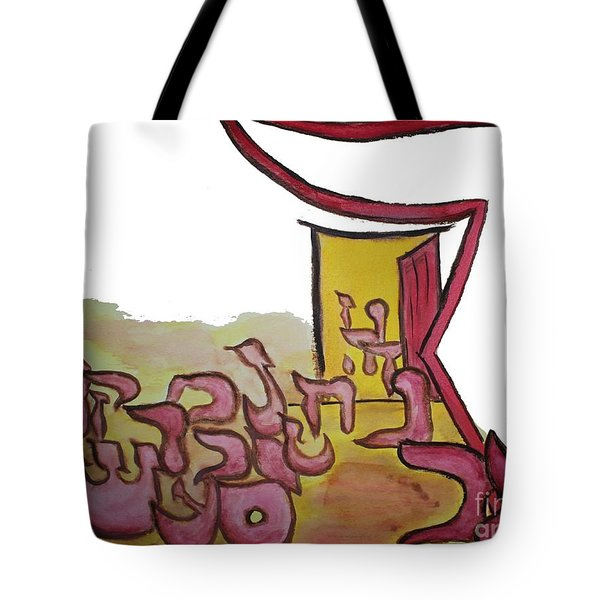 Dalet An Open Door Ab16 Tote Bag