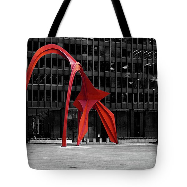 Daley Plaza Tote Bag