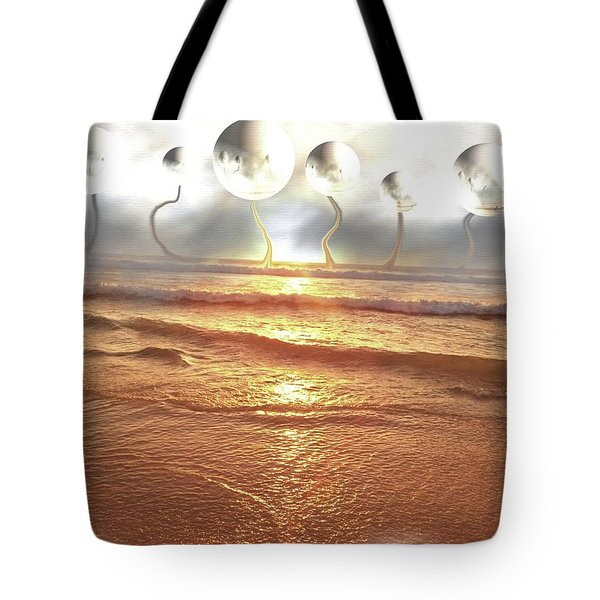Dali, Here In Brazil Tote Bag