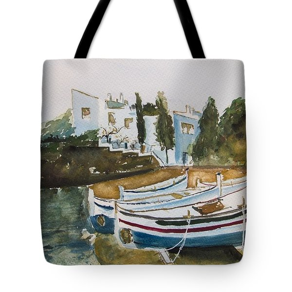 Dali House From Portlligat Tote Bag