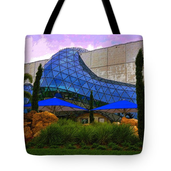 Dali Museum Tote Bag by David Lee Thompson