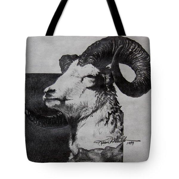 Dall Ram Tote Bag by Karon Melillo DeVega