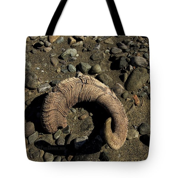 Dall Sheep Horn Tote Bag