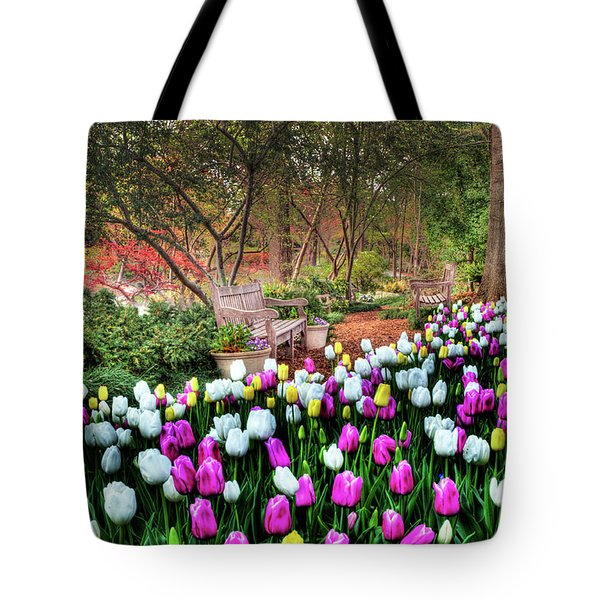 Dallas Arboretum Tote Bag by Tamyra Ayles