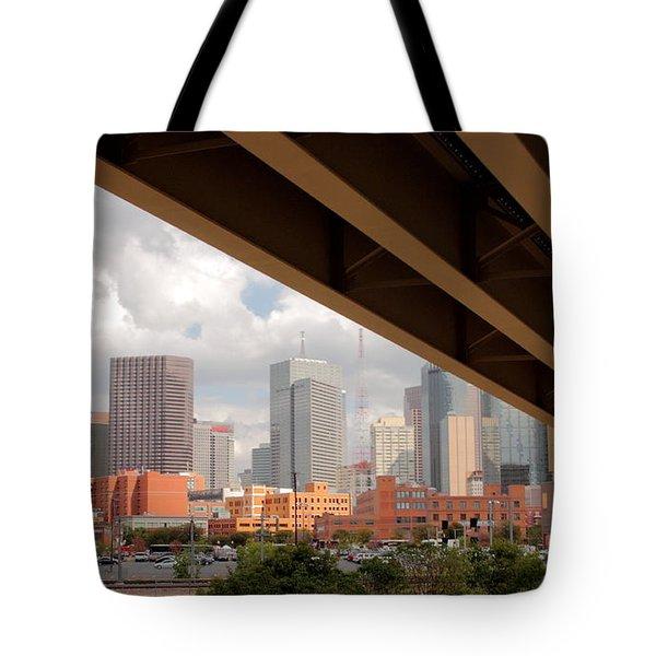 Dallas Backside Tote Bag by Robert Frederick