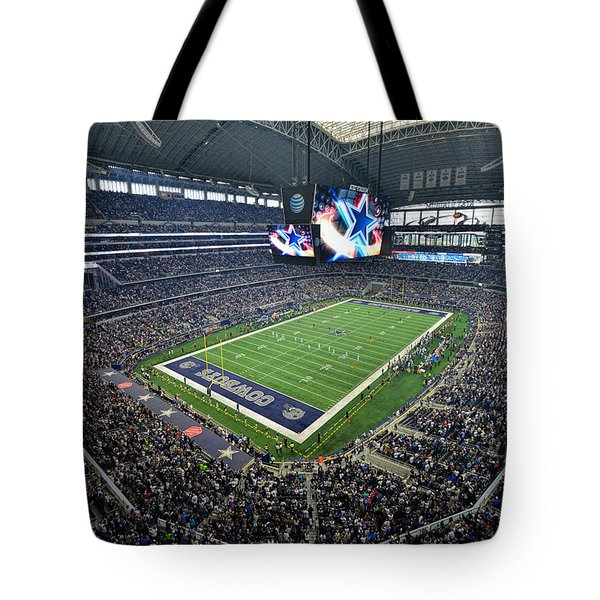 Dallas Cowboys Att Stadium Tote Bag