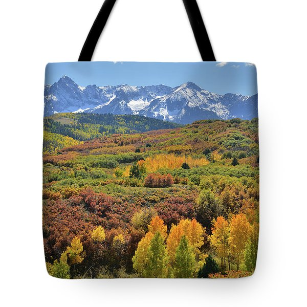 Tote Bag featuring the photograph Dallas Divide Afternoon by Ray Mathis