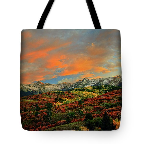 Dallas Divide Sunset - 2 Tote Bag