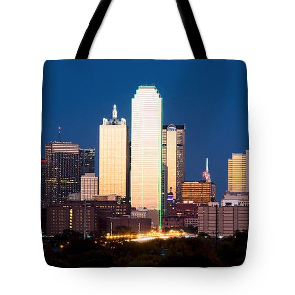Dallas Golden Pano Tote Bag