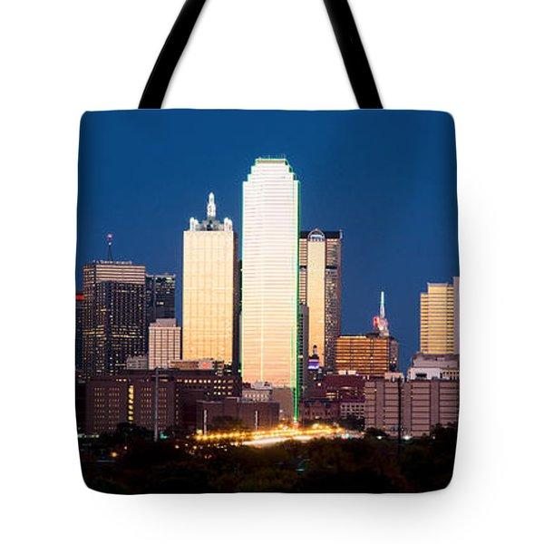 Dallas Golden Pano Tote Bag