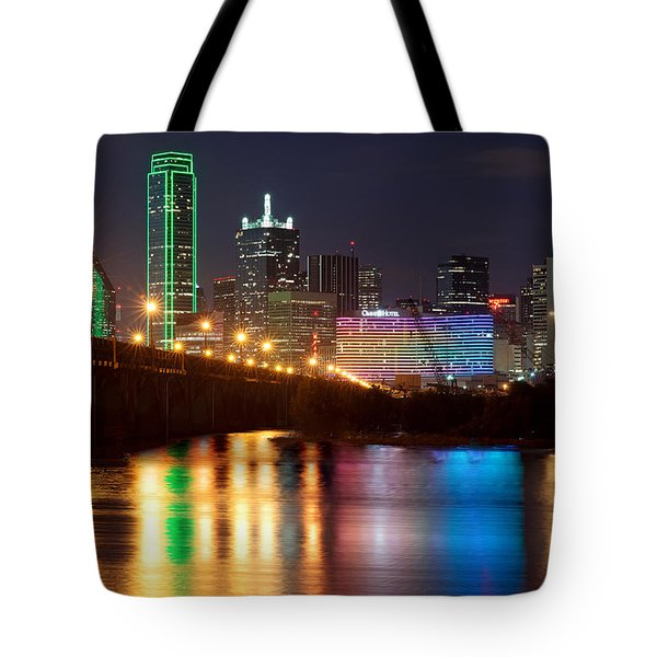 Dallas Reflections Tote Bag