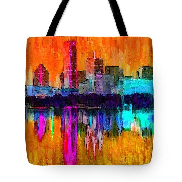 Dallas Skyline 2 - Pa Tote Bag
