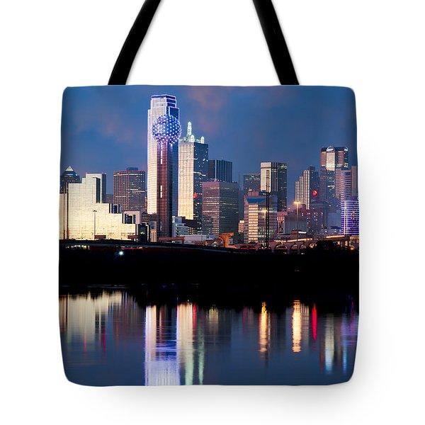 Dallas Skyline May 2015 Tote Bag