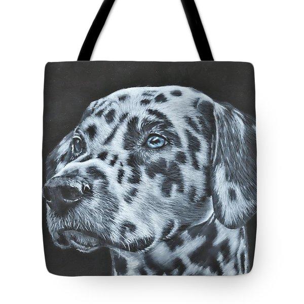 Dalmation Portrait Tote Bag