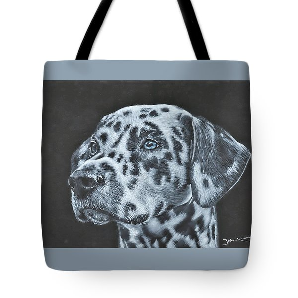Dalmation Portrait Tote Bag