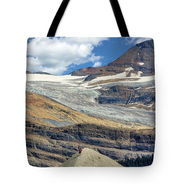 Daly Glacier And Yoho National Park Adventure Tote Bag