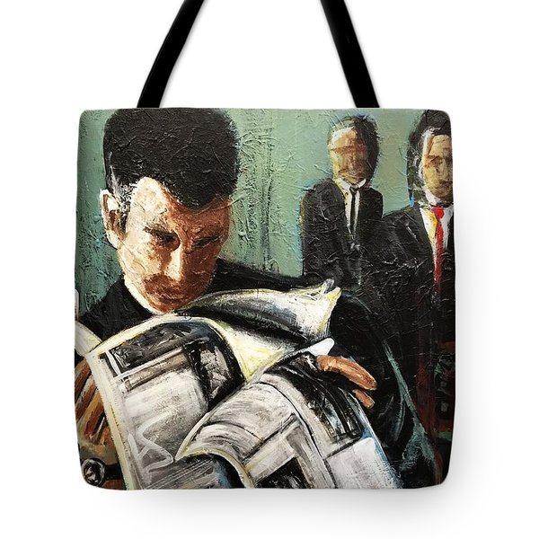 Damage Report Tote Bag