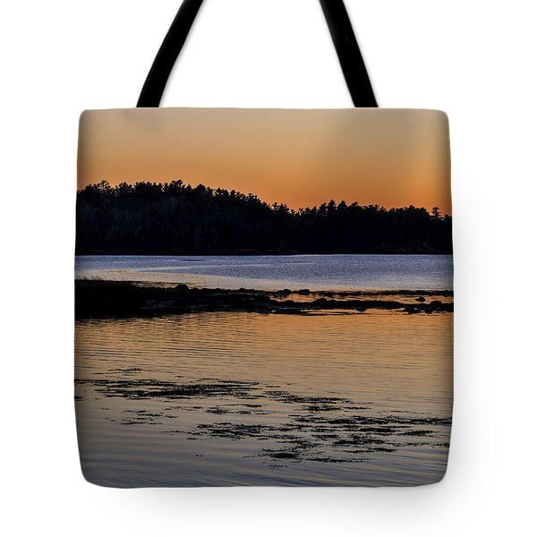Damariscotta Twilight Tote Bag