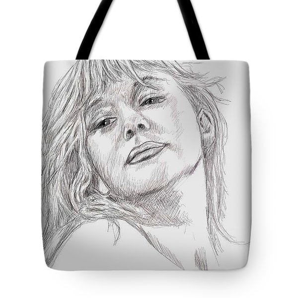 Dame Helen Mirren Tote Bag