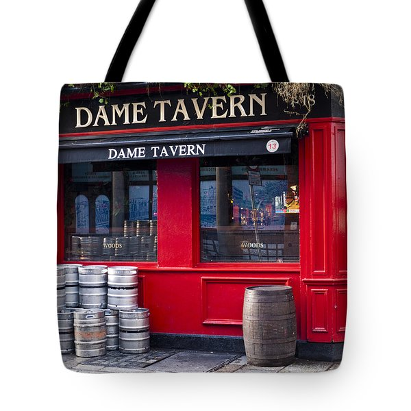 Dame Tavern Tote Bag by Rae Tucker