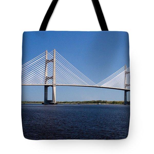 Dames Point Bridge Tote Bag