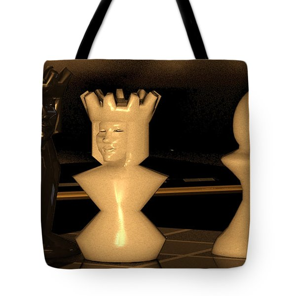 Damianos Bishop Mate Tote Bag