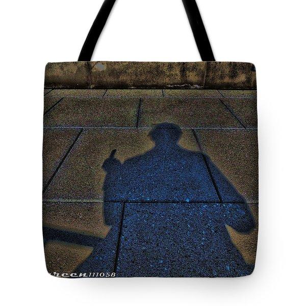 Damn Shadow Figure Tote Bag