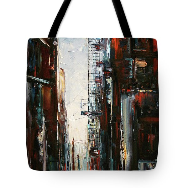 Damp And Cold Tote Bag by Debra Hurd