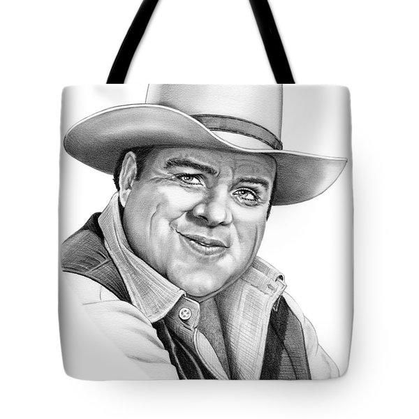 Dan Blocker Tote Bag by Murphy Elliott