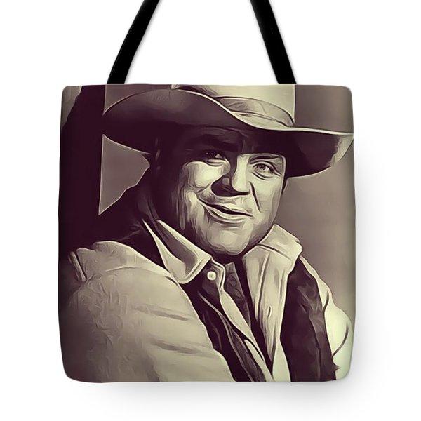 Dan Blocker, Vintage Actor Tote Bag