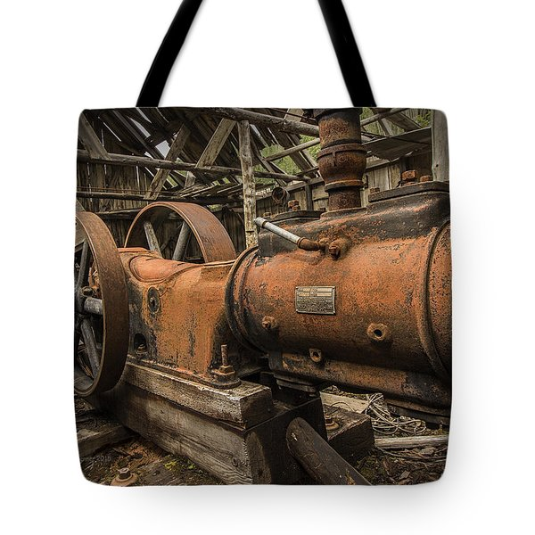 Dan Creek Compressor Tote Bag