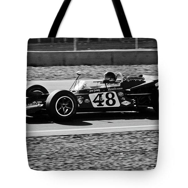 Dan Gurney For The Win Tote Bag