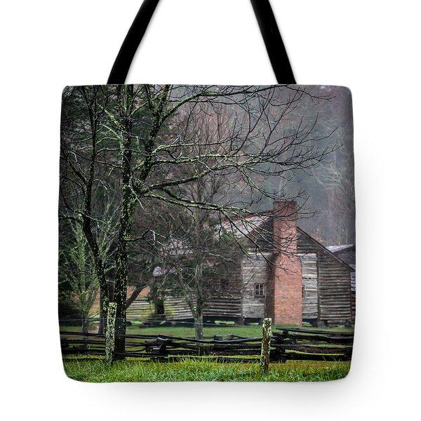 Dan Lawson's Cabin Tote Bag