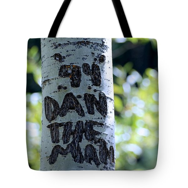 Dan The Man Tote Bag