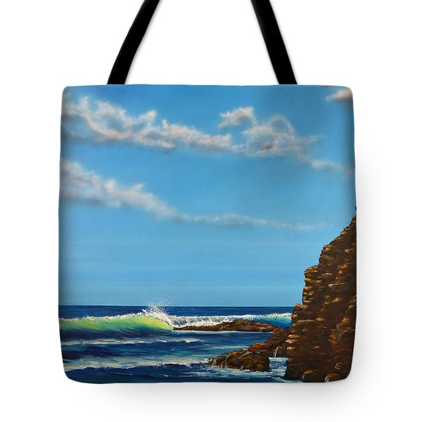 Dana Point Walk Tote Bag