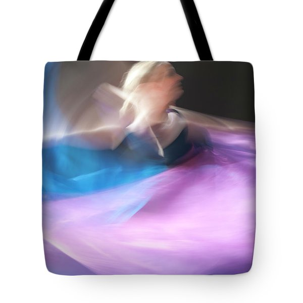 Dance Ballerina Tote Bag
