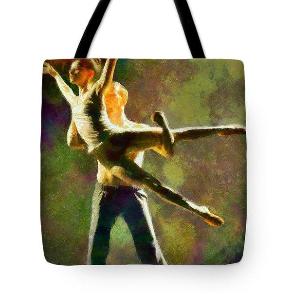 Dance 3 Tote Bag
