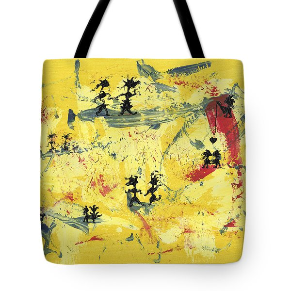 Dance Art Creation 1d9 Tote Bag