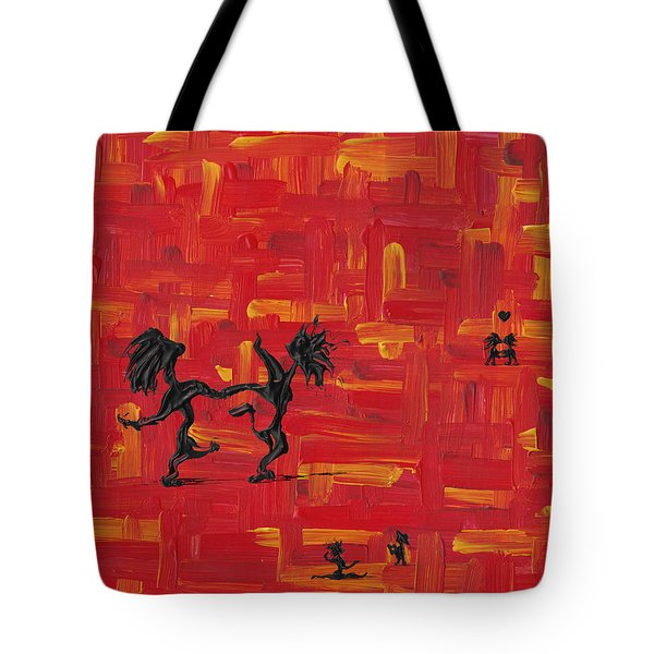 Dance Art Creation 3d9 Tote Bag