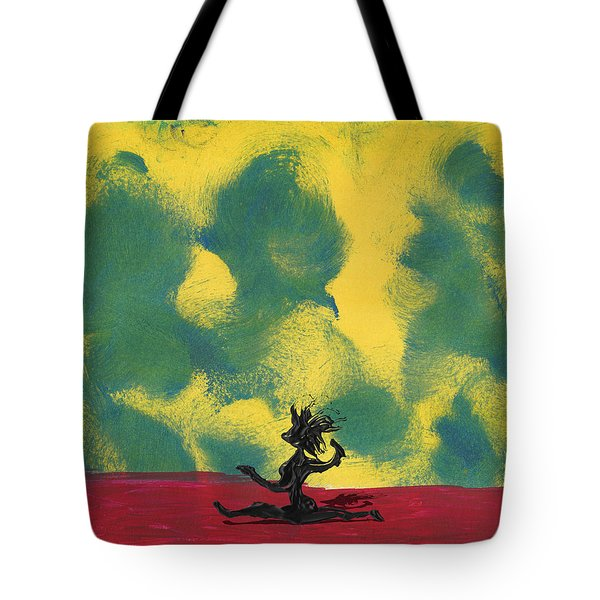 Dance Art Dancer Tote Bag