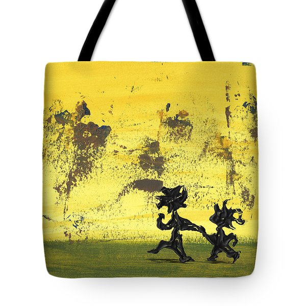 Dance Art Dancing Couple 147 Tote Bag