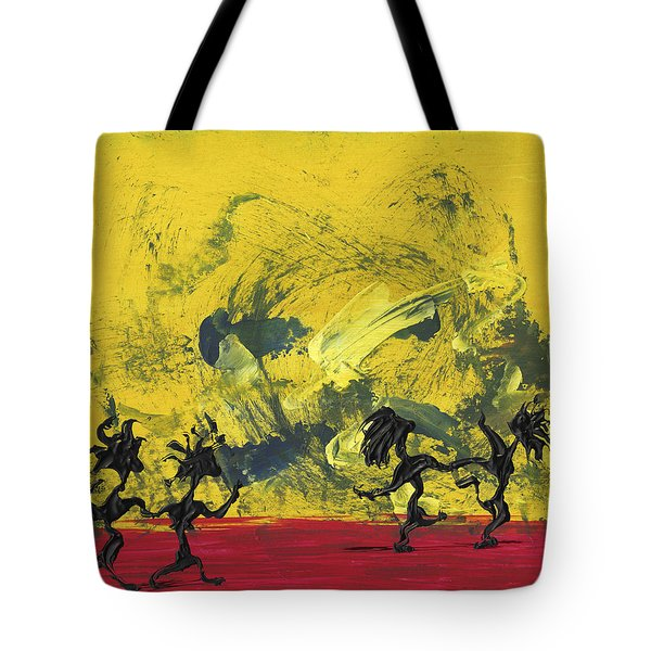 Dance Art Dancing Couple 22 Tote Bag